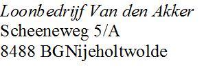 Loonbedrijf Van den Akker